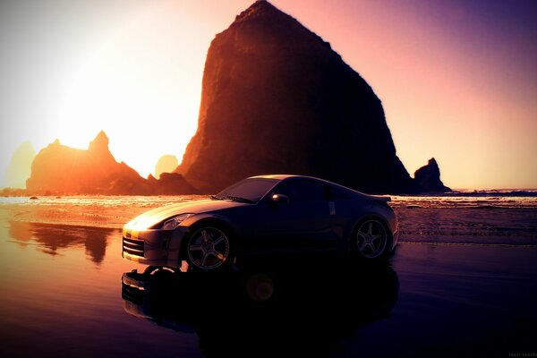 Nissan 350 Z Sunset