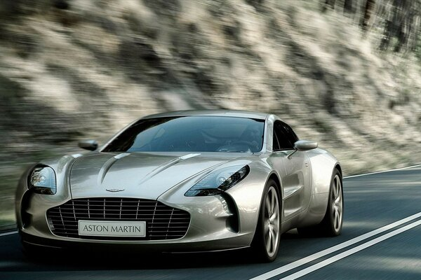 Beautiful Coupe Aston Martin Front