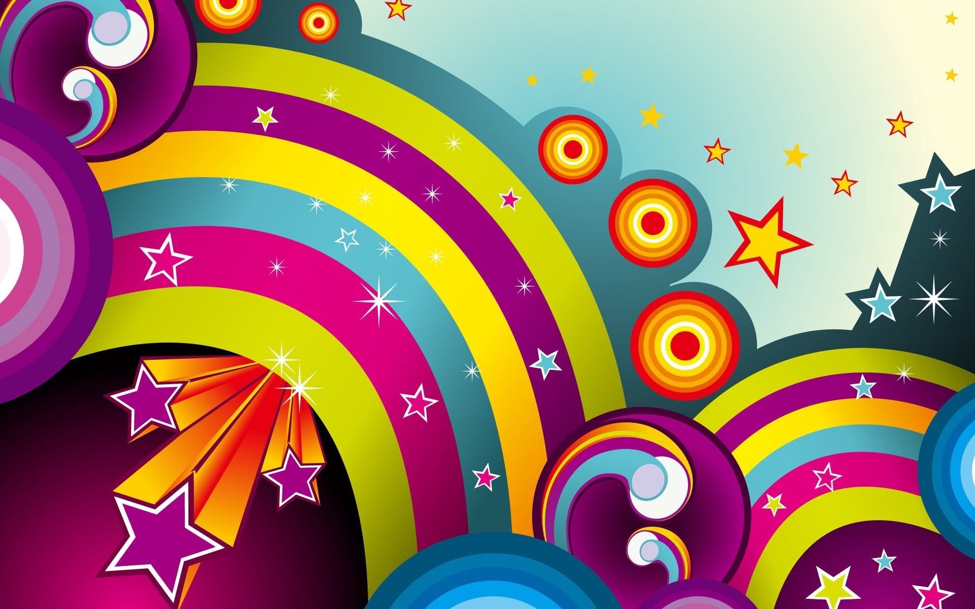 Drawings Illustration Design Decoration Desktop Abstract Art Wallpaper Pattern Party Vector Fun Motley Rainbow Bright Celebration