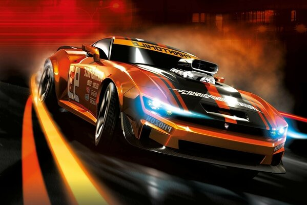 Ridge Racer racing game machine power frame speed