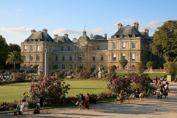 Luxembourg Palace Paris