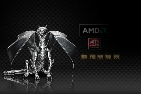 AMD Dragon Black