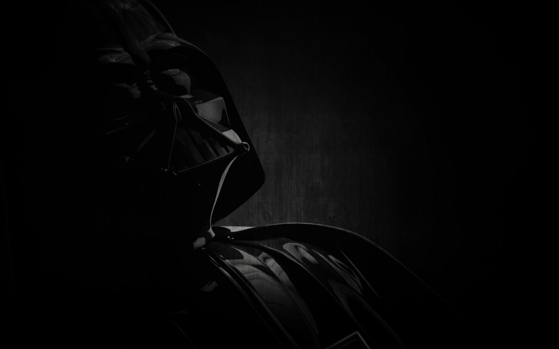 Star Wars Dark Art Shadow Monochrome Silhouette Studio Light Anakin Skywalker Wallpapers Saga