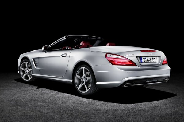 2012 Mercedes Benz SL-350 Edition Rear