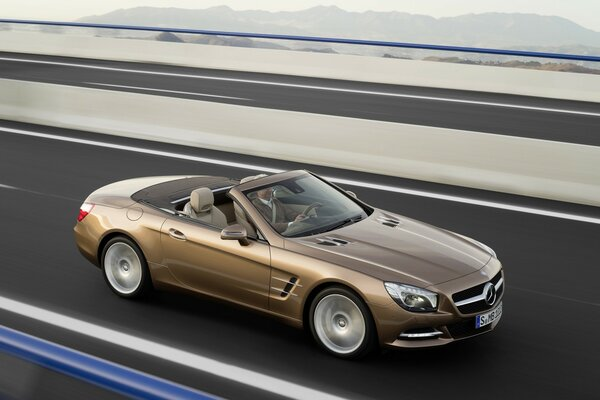 2012 Mercedes SL Speed