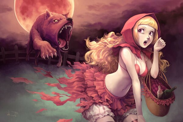 Little red riding hood little red riding hood wolf