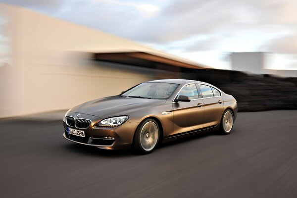 BMW 6 Series Gran Coupe Speed