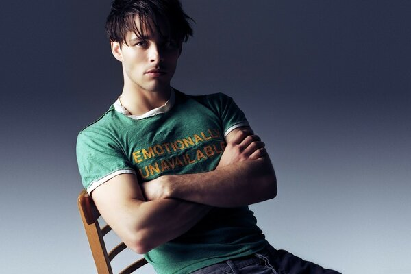 James Marsden Seated