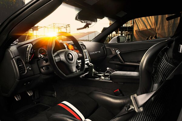 TIKT Corvette C6 ZR1 Interior
