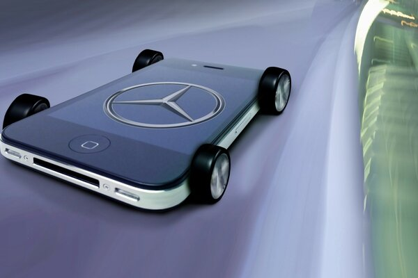 Mercedes Benz iPhone