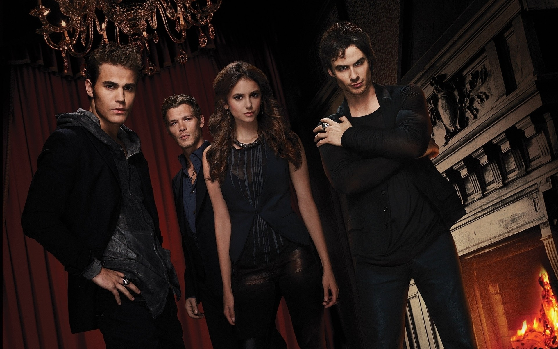 The vampire diaries actors android wallpapers for free voltagebd Gallery