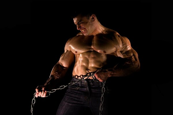 The strength of the muscle chain