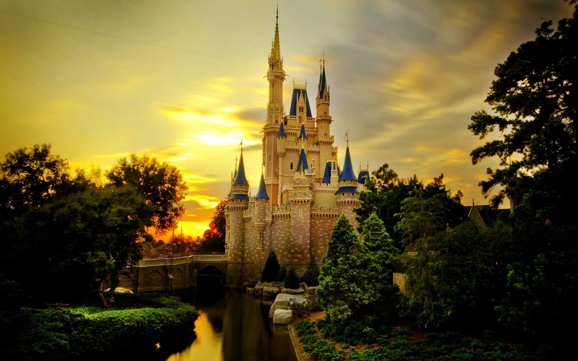 Cinderella Castle Desktop Wallpapers For Free