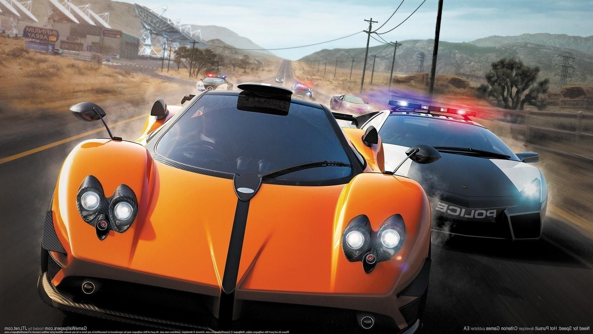 Nfs Hot Pursuit Need For Speed Race Cop Lamborghini Free Wallpapers