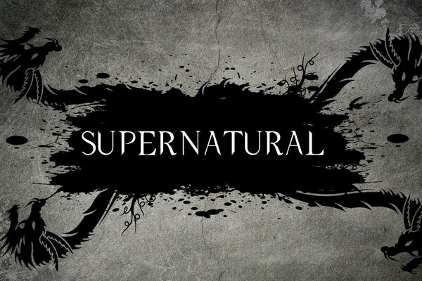 Supernatural Tv Series Logo