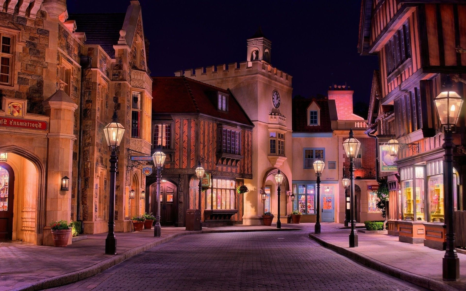 ancient architecture architecture travel city street outdoors evening dusk building illuminated town