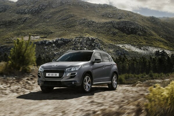 Beautiful Peugeot 4008 4x4