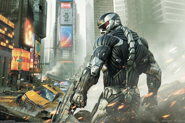 Crysis 2, crisis city, crytek