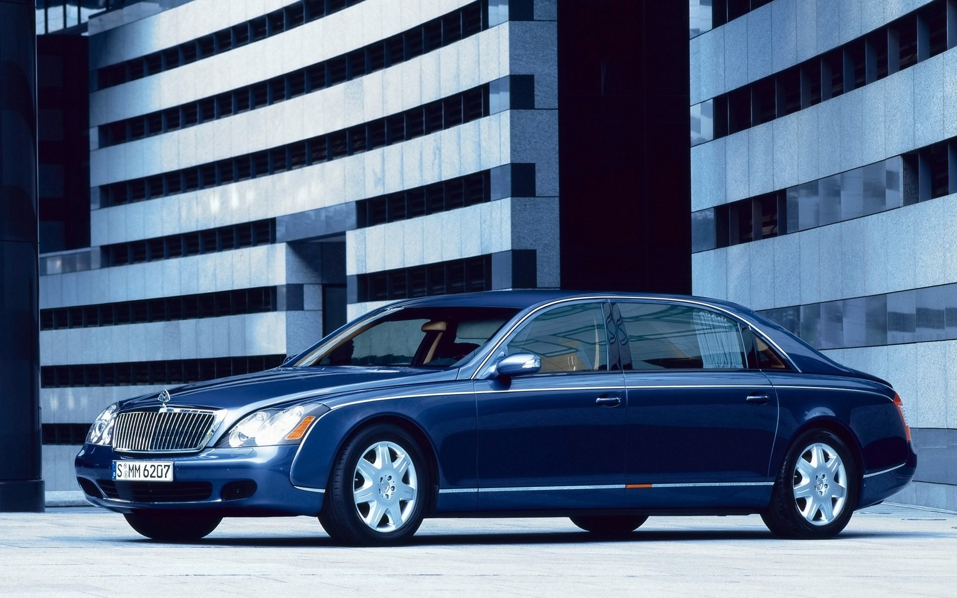 maybach car vehicle transportation system city pavement road street urban automotive maybach 62