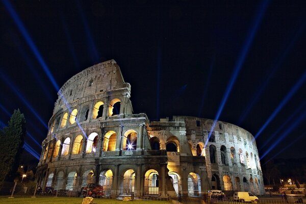 Colloseum during the Night