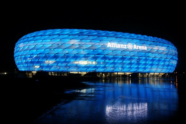 The Allianz Arena Munich