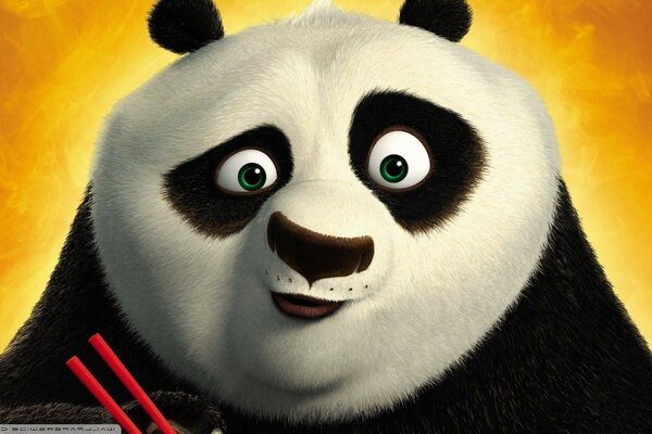 Kung fu Panda 2 cartoon