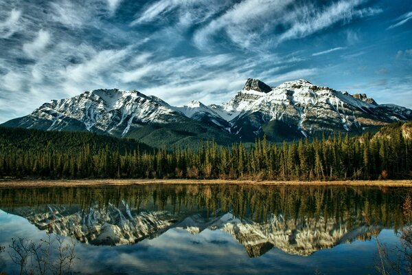Alberta Mountains Canada