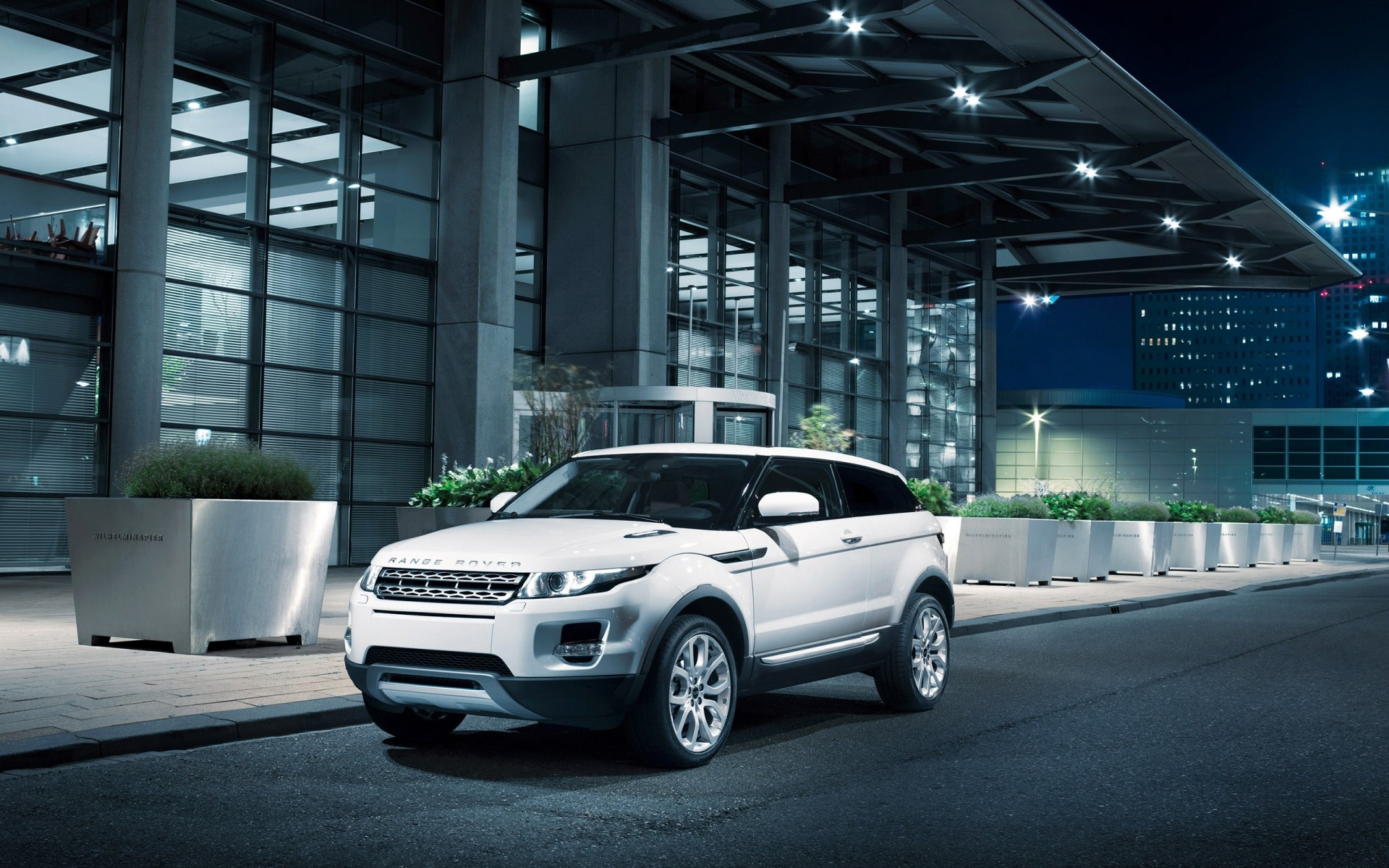White Range Rover Evoque Android Wallpapers For Free