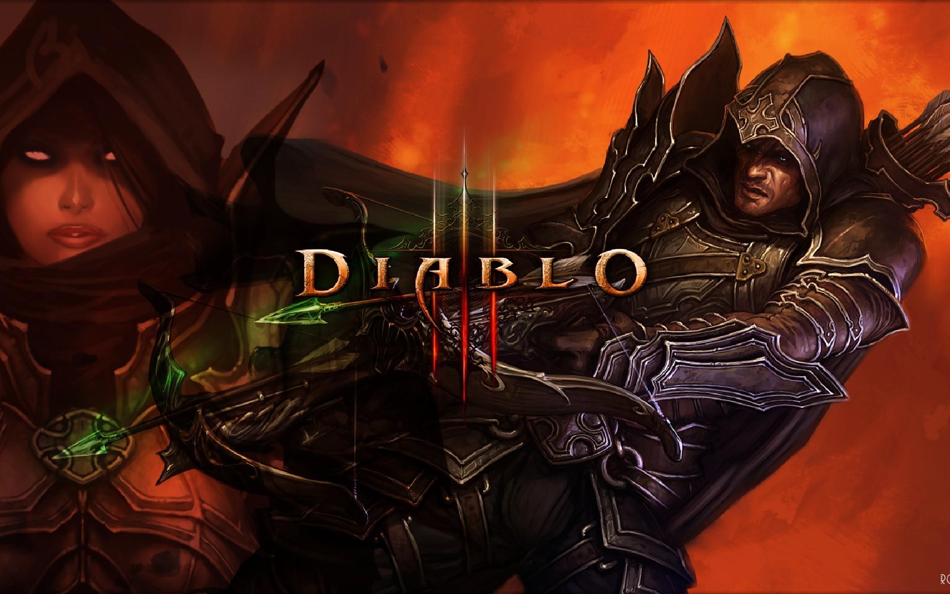 Diablo 3 Demon Hunters Free Wallpapers