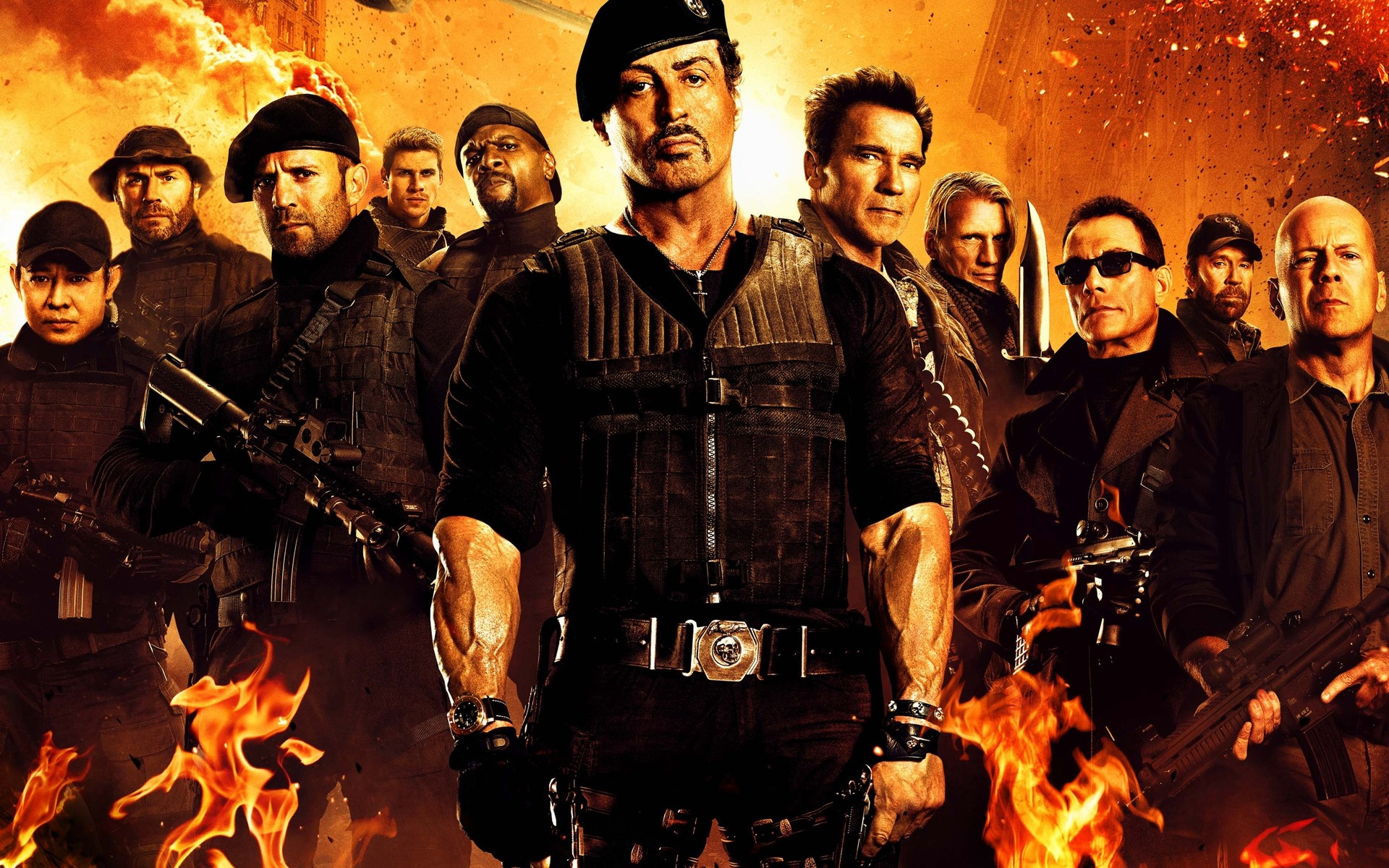 the expendables 2 film. desktop wallpapers for free.