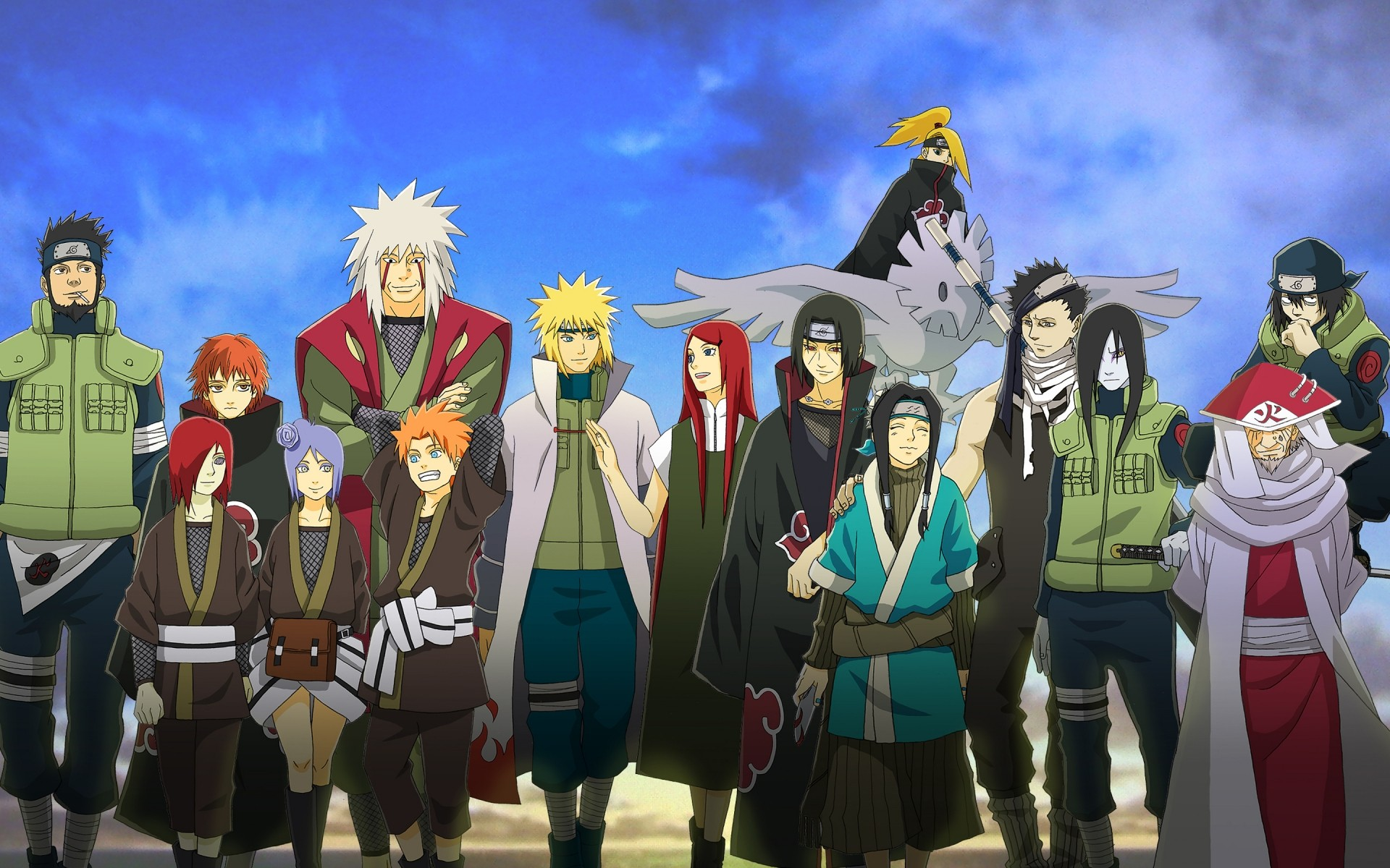 Naruto Friends Android Wallpapers