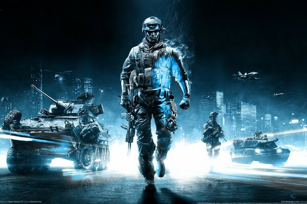 Battlefield 3 Action Game