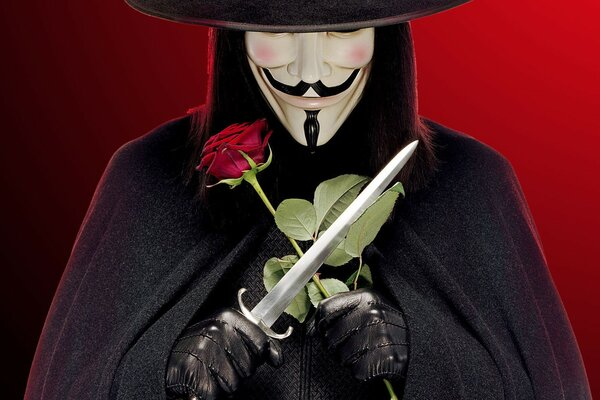 V for Vendetta Character