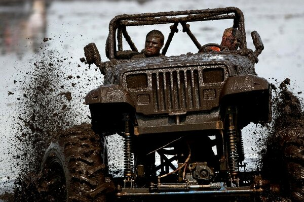 Jeep Wrangler 4x4 Off Road Competition