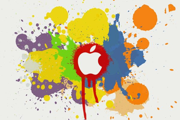 Apple Color Splash Effect