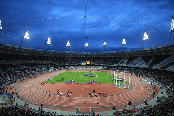 BUCS VISA Athletics Championships 2012