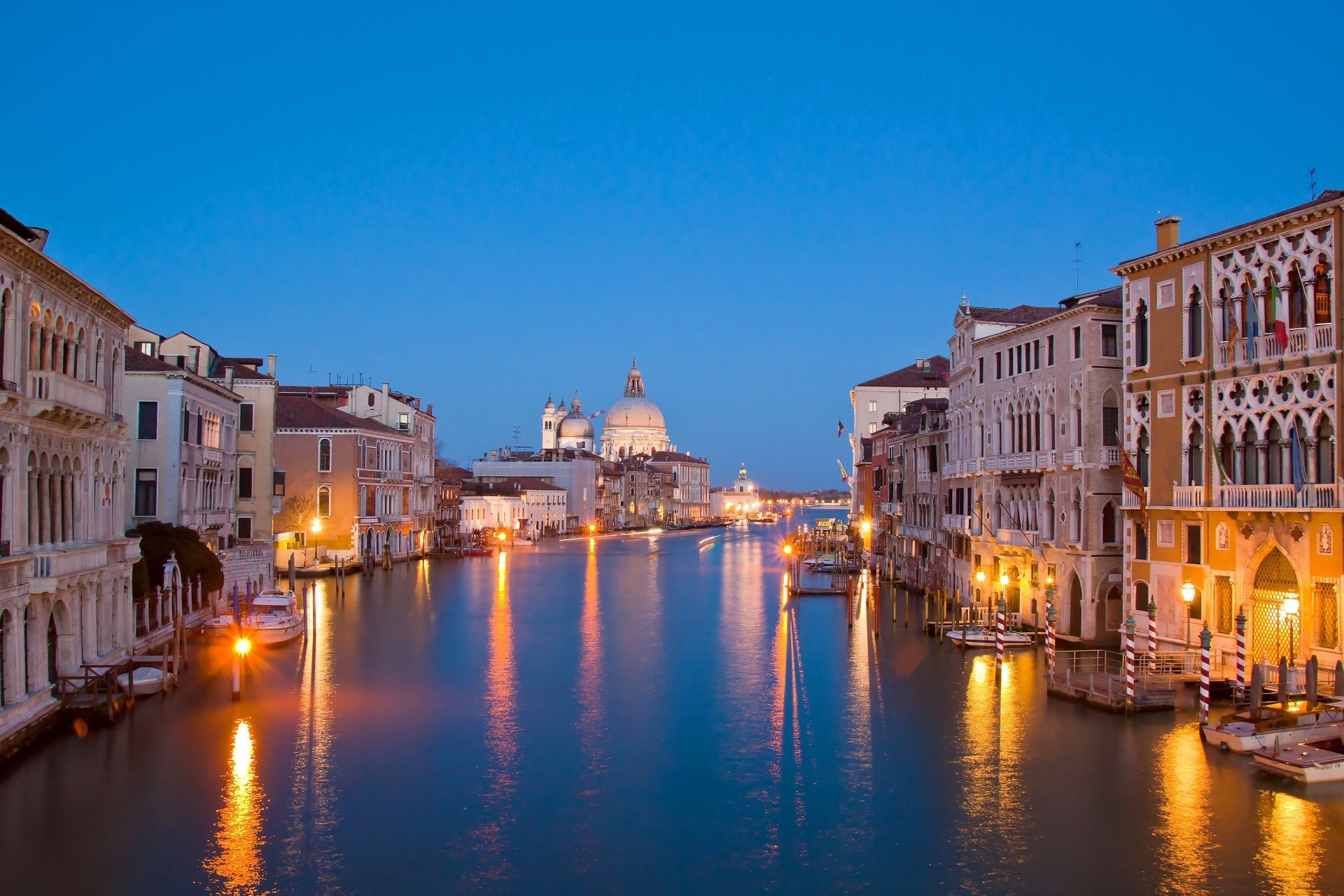 city water canal travel architecture dusk outdoors venetian sunset evening building bridge illuminated river reflection gondola tourism sky town