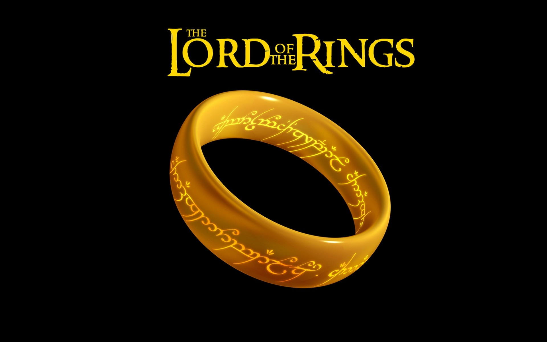 The Lord Of The Rings Logo Android Wallpapers