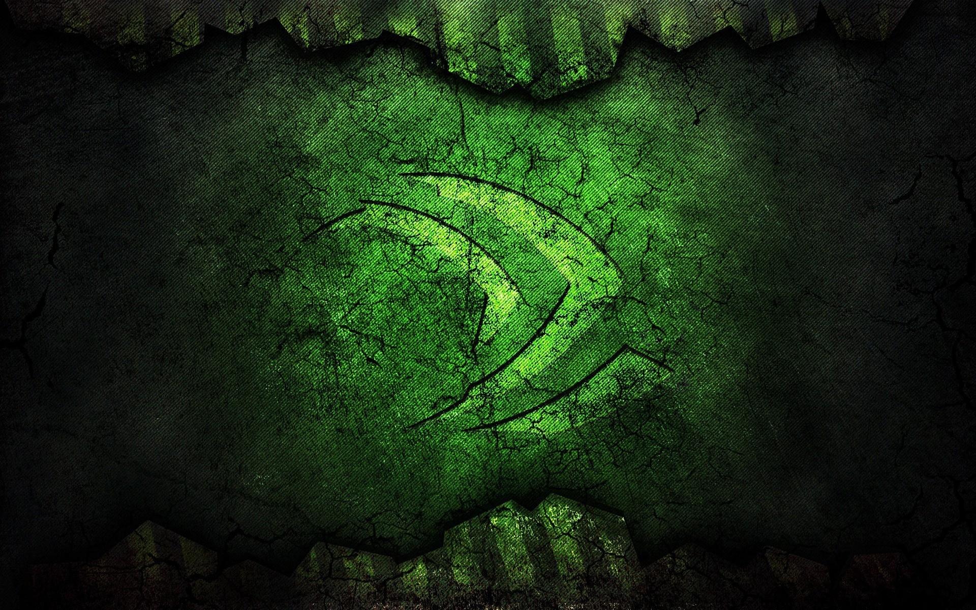 Nvidia Green Logo - Phone wallpapers