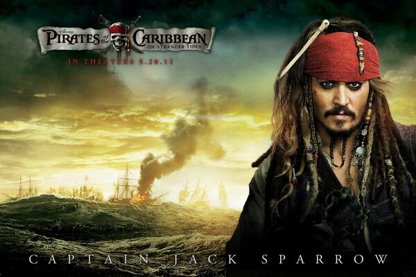 sea Jack Sparrow pirates of the Caribbean