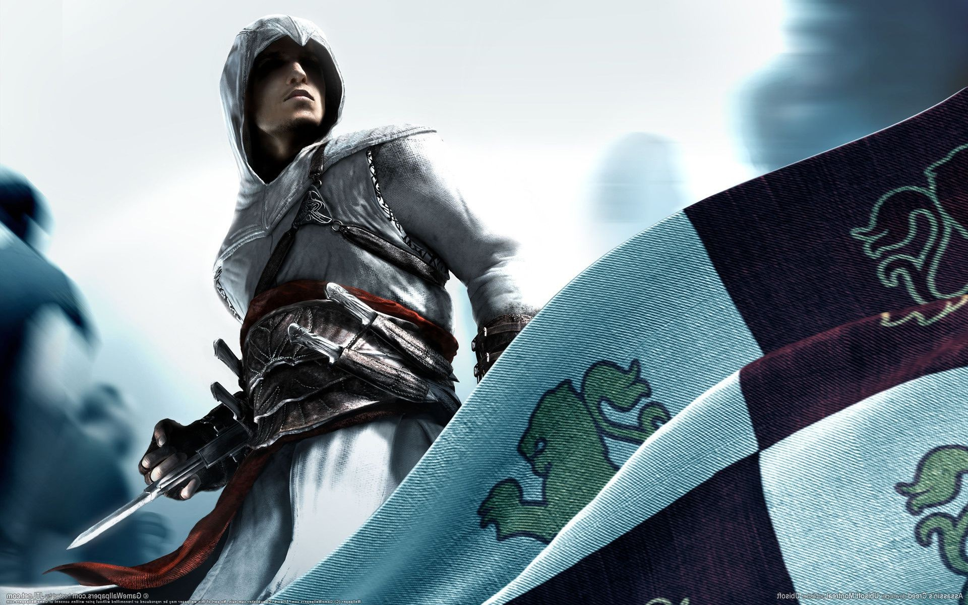 Assassins creed asasin flag credo