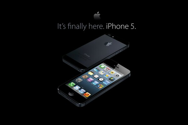 New iPhone 5 Handset Black