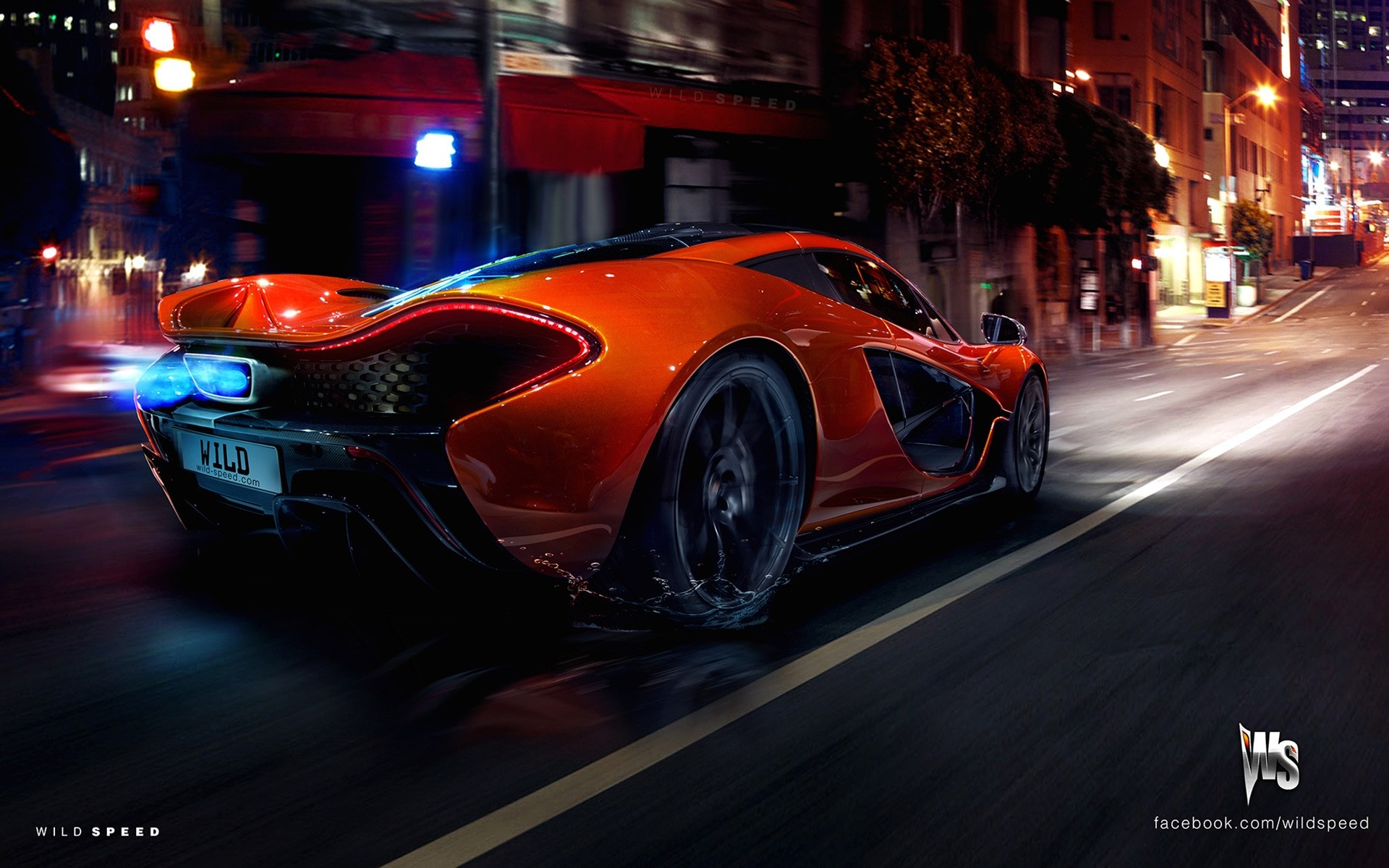 orange mclaren p1 hypercar concept. desktop wallpapers for free.