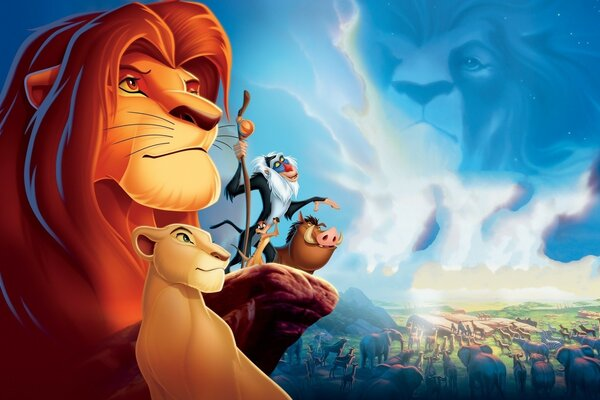 Lion King Simba and Friends