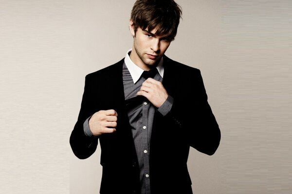 Chace Crawford Casual Look