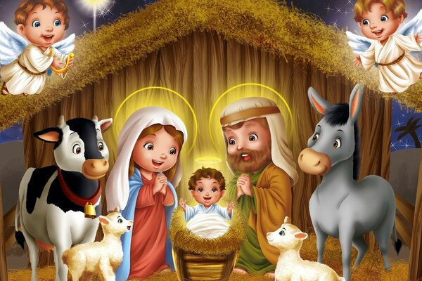 Story Birth of Jesus Christ