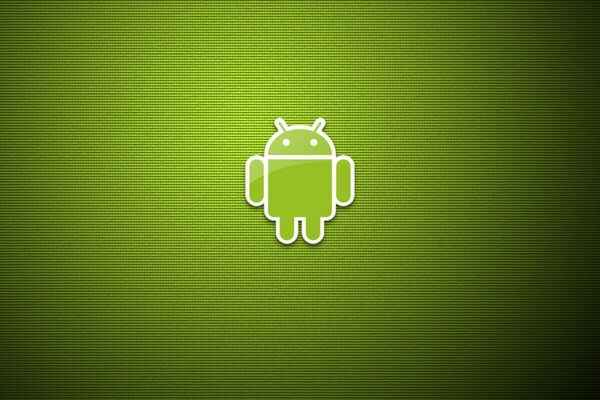 Green Eco Android Logo