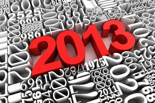 2013 New Year 3D