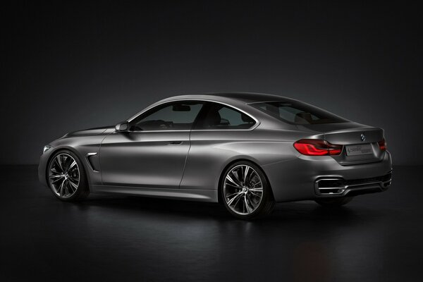 BMW 4 Series Coupe Concept Rear Studio