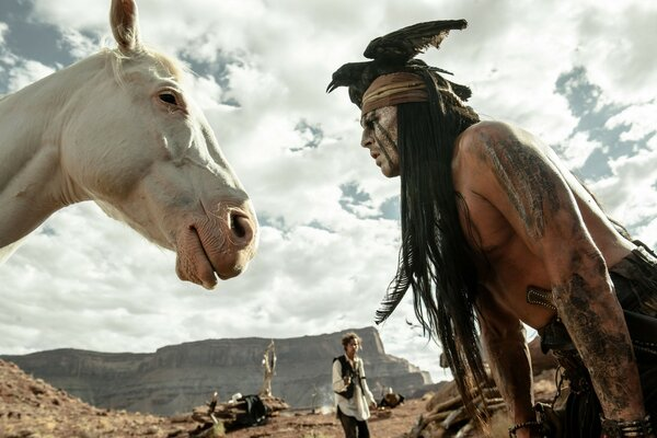 2013 The Lone Ranger Scene
